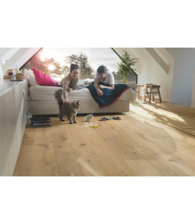 QUICK STEP PARKET PALAZZO ROBLE CRUDO COUNTRY EXTRA MATE PAL3097  VIBRANT
